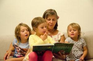 čtení dětem, pohádky pro děti