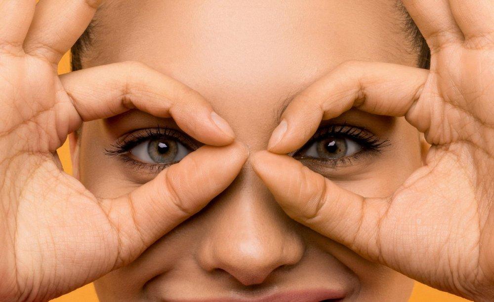 přírodní péče o oční okolí