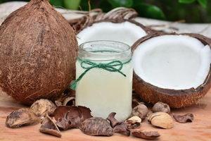 kokosový olej v kosmetice, kokosový olej