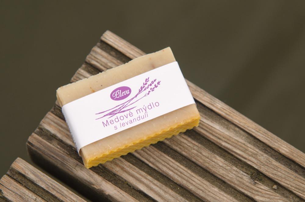 Medové mýdlo s levandulí