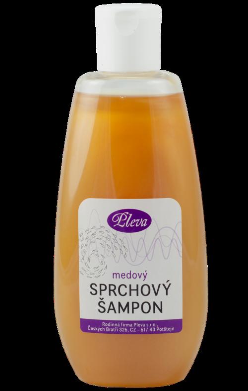 Sprchový šampon s medem