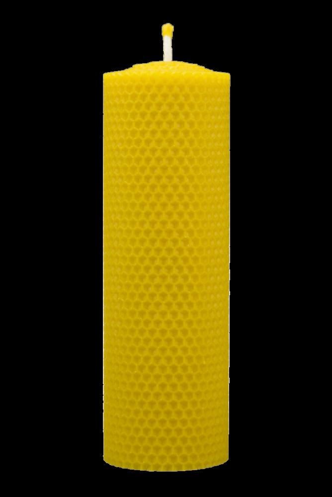 Pleva Svíčka ze včelího vosku, šíře 60mm, výška 167mm