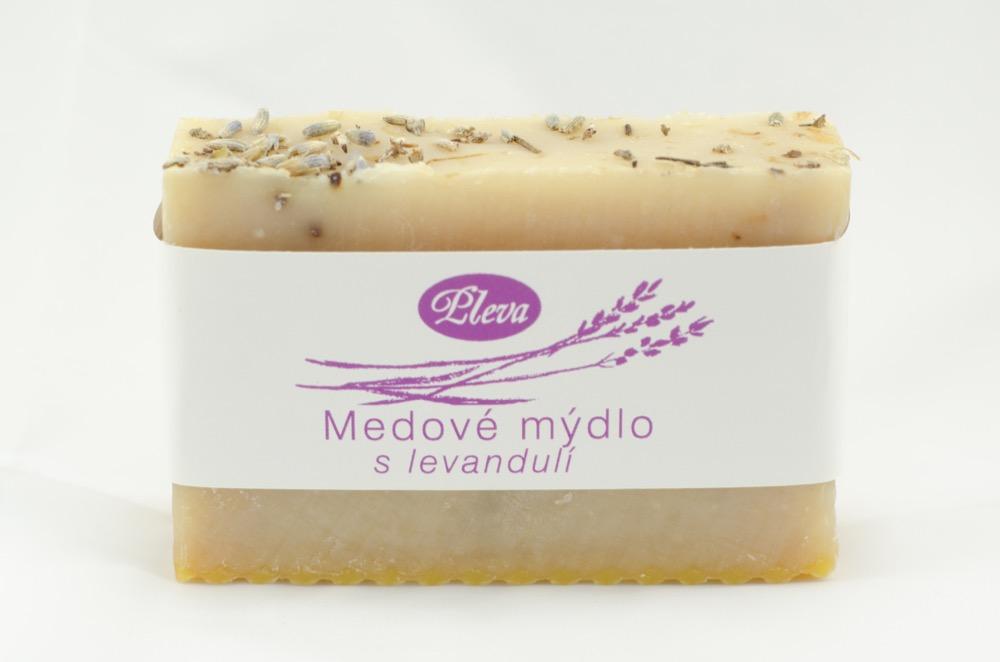 Pleva medové mýdlo s levandulí 90g