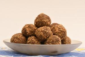 Zdravé vánoční cukroví, pralinky z čokolády - Pleva
