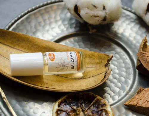 Medový balzám na rty kulička ve skle - Pleva