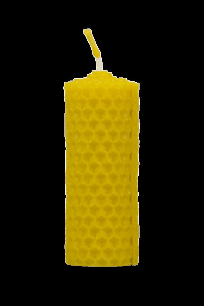 Pleva Svíčka ze včelího vosku, šíře 30mm výška 80mm