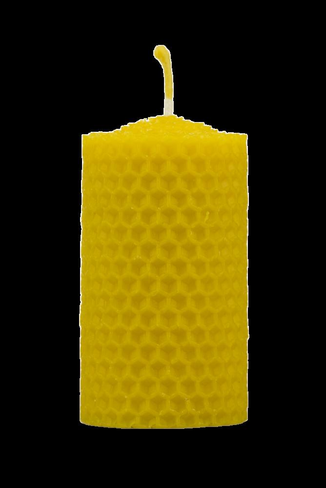 Pleva Svíčka ze včelího vosku, šíře 40mm výška 67mm