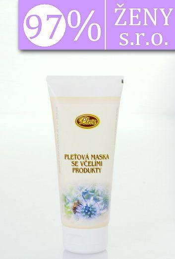Pleťová maska se včelími produkty