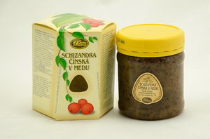 Schizandra čínská v medu, pleva