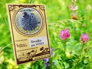 Osivo květnatá louka pro včelky, trvalky, pleva