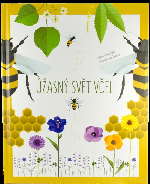 Dětská ilustrovaná kniha, Úžasný svět včel, pleva