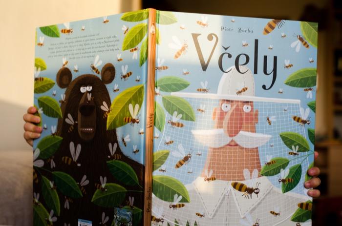Dětská kniha Včely