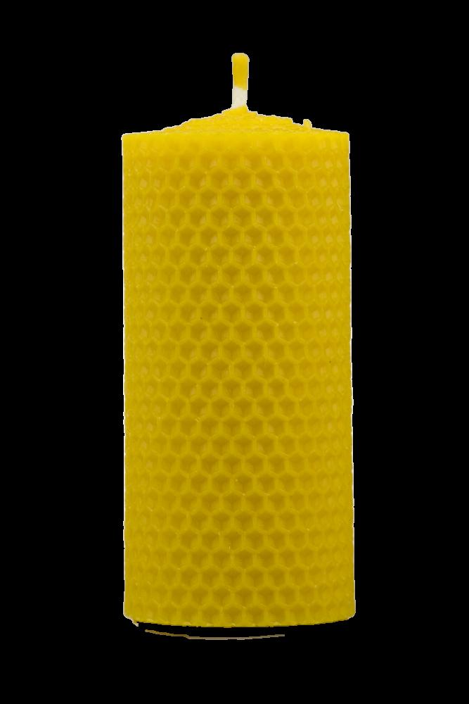 Pleva Svíčka ze včelího vosku, šíře 50mm, výška 100mm
