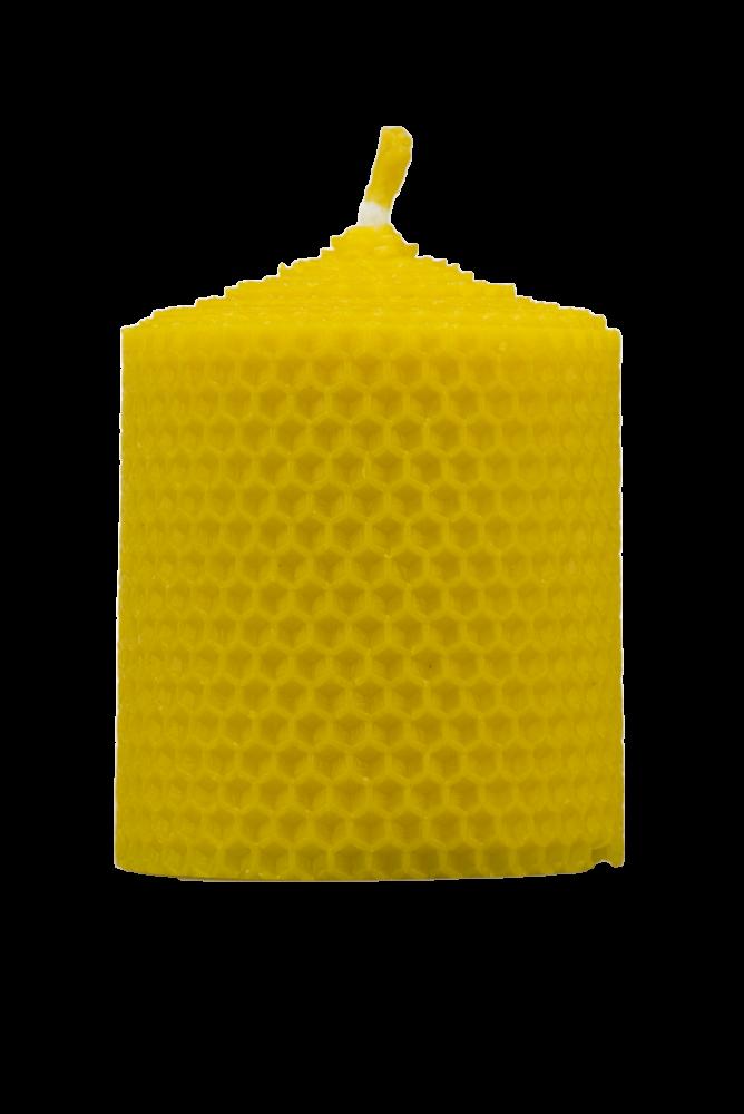 Pleva Svíčka ze včelího vosku, šíře 70mm, výška 67mm