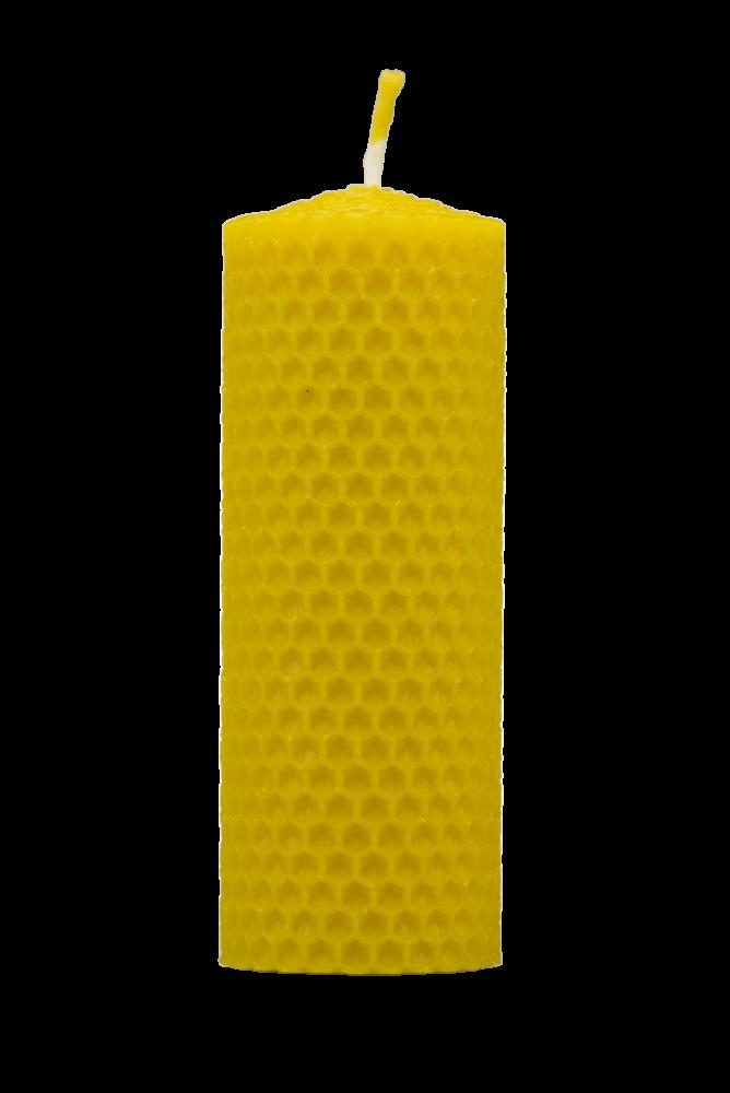 Pleva Svíčka ze včelího vosku, šíře 40mm výška 100mm