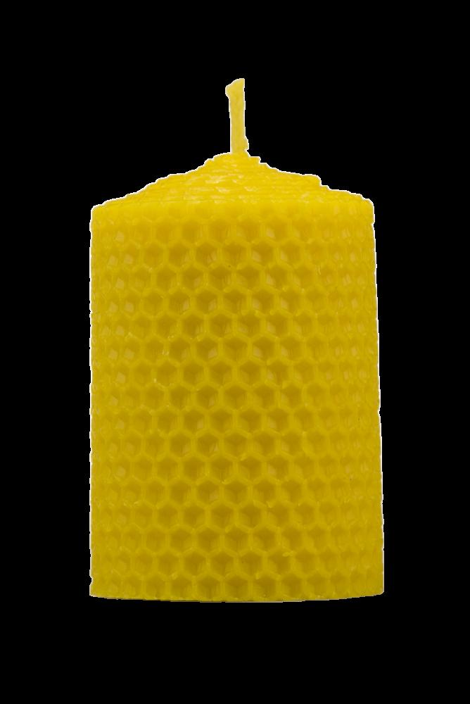Pleva Svíčka ze včelího vosku, šíře 50mm, výška 67mm