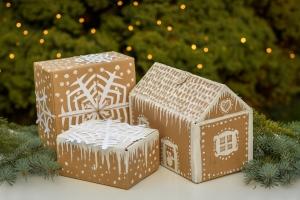 využití použitých krabic, ekologické balení dárků