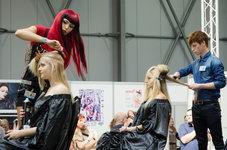 kadeřnická show na world of beauty spa