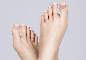 stříháním proti zarůstání nehtů na nohou