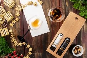 Dárkové sady, včelí med, medovina, vánoční dárek, pleva