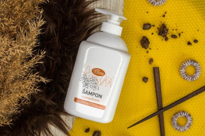 Šampon s propolisem velké balení, Pleva