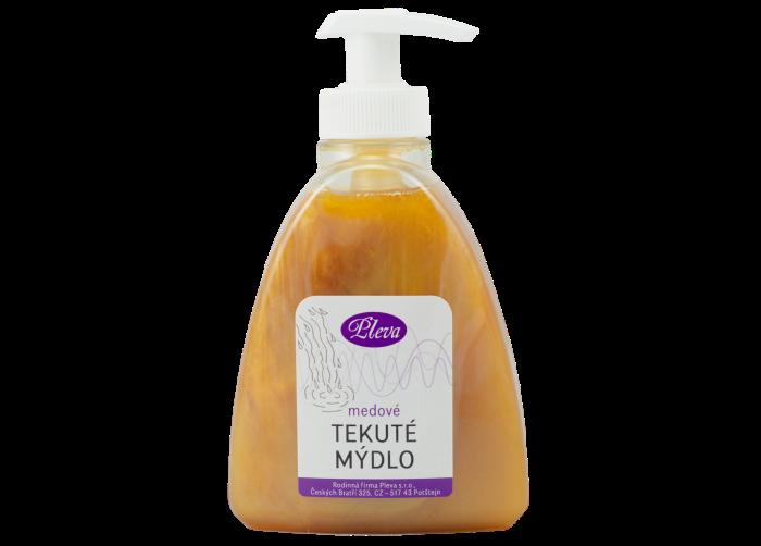 Medové tekuté mýdlo, Pleva