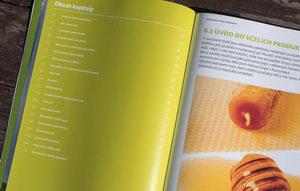 Kniha Včelařství - svazek III., obsah kapitoly o včelích produktech, Pleva