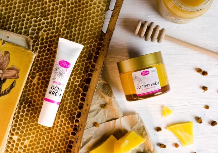 Pleťové krémy se včelími produkty, Pleva