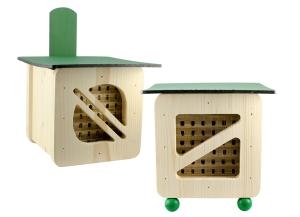 hmyzí hotel, cubeline, hotel pro včely samotářky