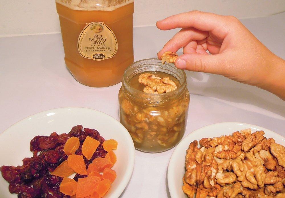 sušené ovoce v medu