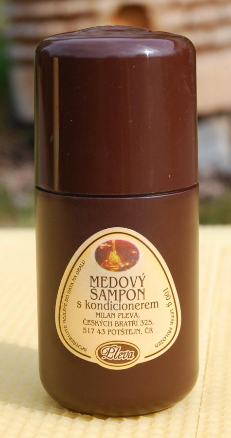 Medový šampon s kondicionerem