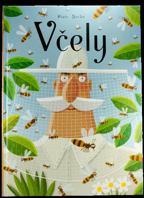 Dětská velkoformátová kniha Včely, pleva