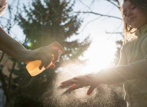 Čisticí sprej na ruce s propolisem, dezinfekce na ruce, 70 % alkoholu