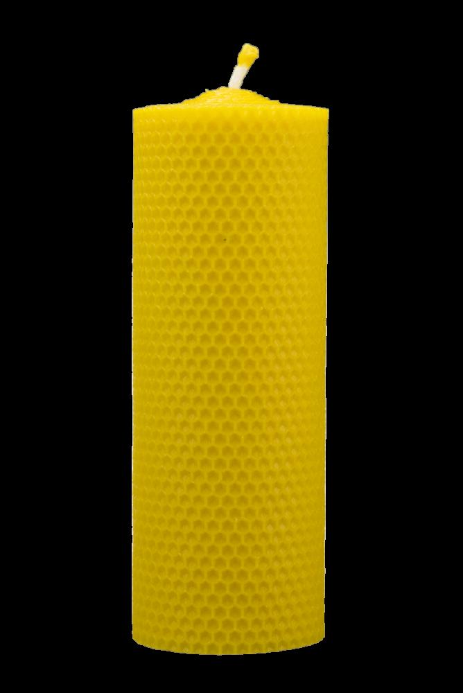 Pleva Svíčka ze včelího vosku, šíře 70mm, výška 167mm