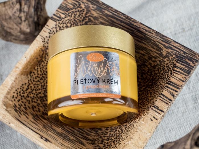 Pleťový krém s propolisem - Pleva