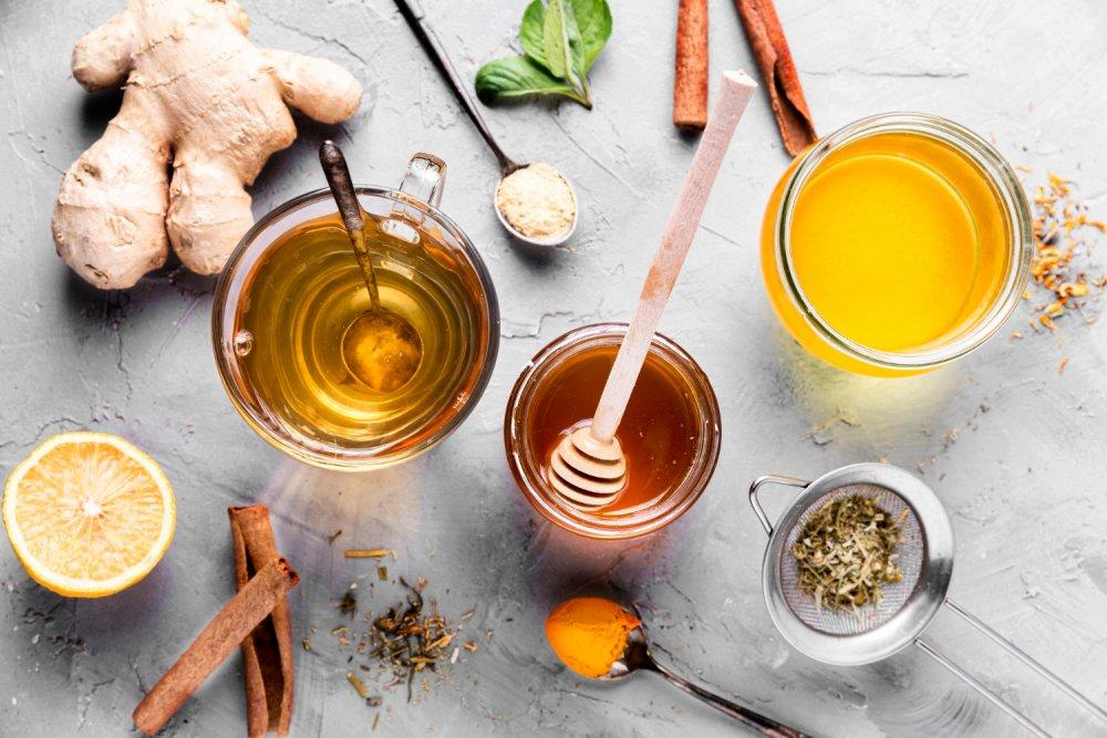 Zázvorový čaj s chilli na nachlazení
