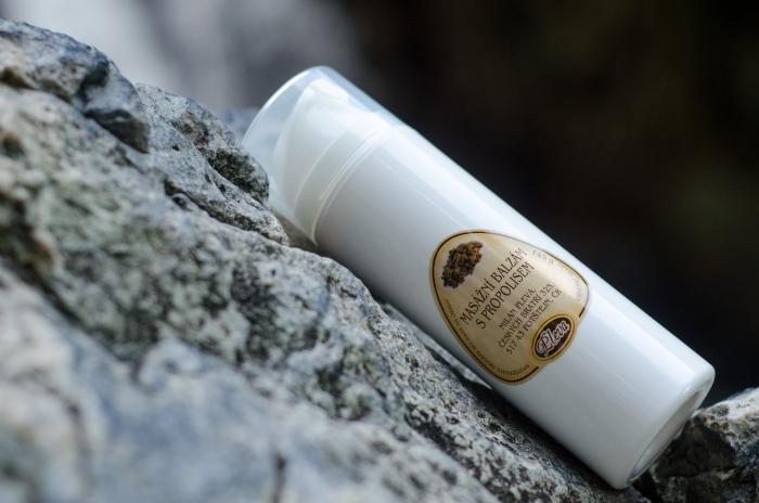 Masážní balzám s propolisem - Pleva