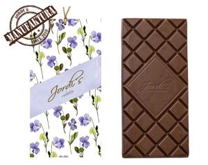 dárková sada, čokolada s fialkou Jordi's, pleva
