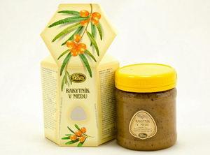 Rakytník v medu, Pleva