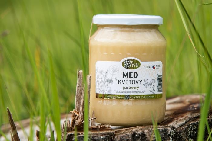 Med květový pastovaný 950 g Pleva