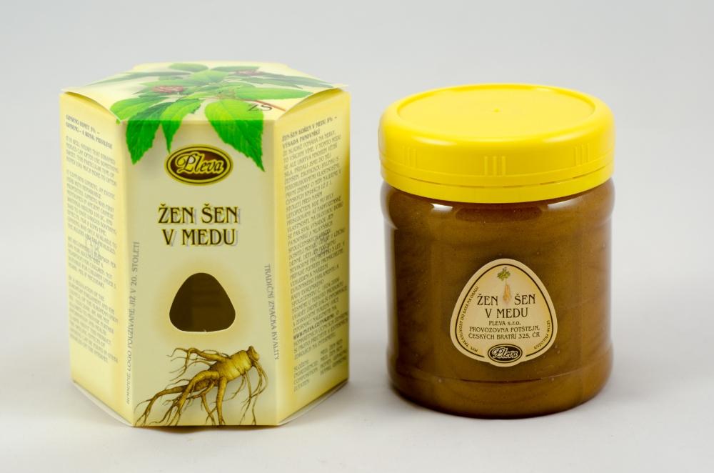 Ginseng root in honey Pleva