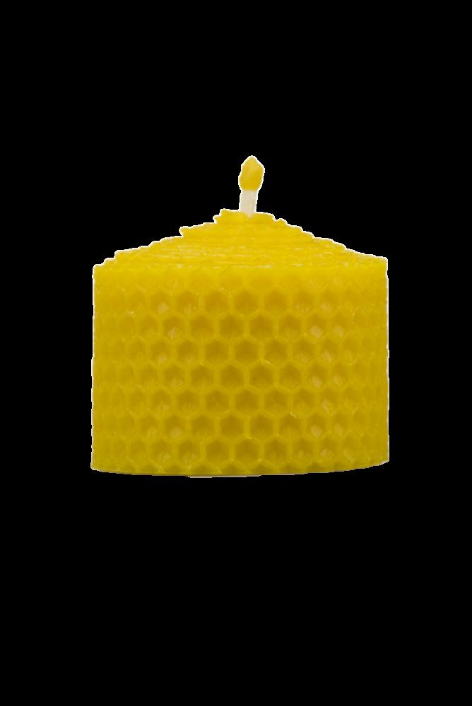 Pleva Svíčka ze včelího vosku, šíře 50mm, výška 33mm