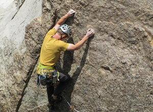 kůže zatěžovaná sportem, horolezectví