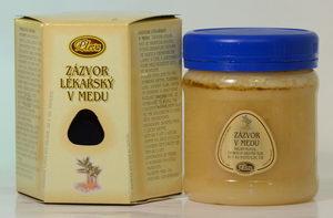 Zázvor lékařský v medu, Pleva
