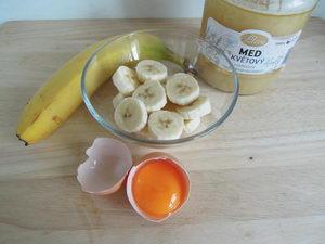 Domácí banánová maska pro rozjasnění pleti, návod