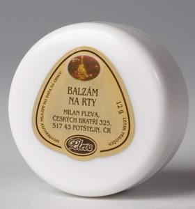Medový balzám na rty kelímek - Pleva,