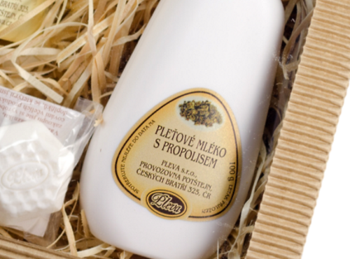 dárková sada Rozmazlovací sada, Pleťové mléko s propolisem