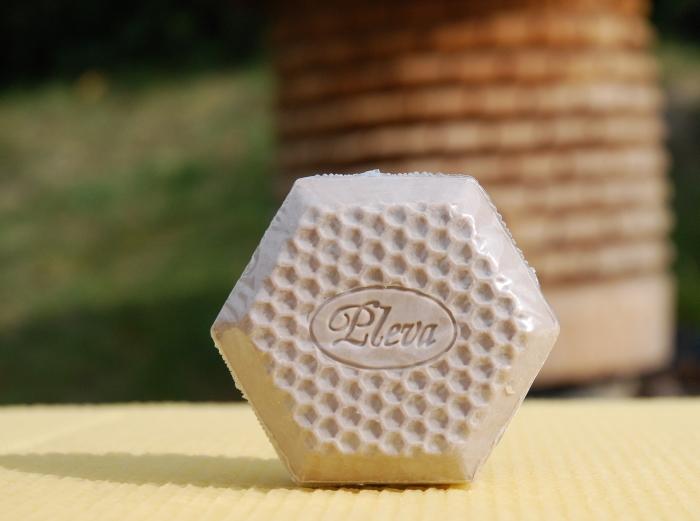 Mýdlo s propolisem (hnědé) - Pleva