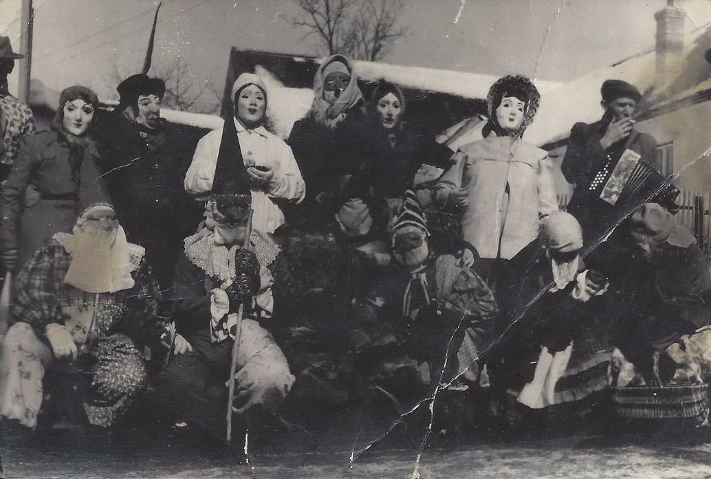 Masopust po roce 1945, autor Lenka Lyalikoff