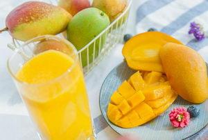 smoothie mango, vitamíny, Pleva